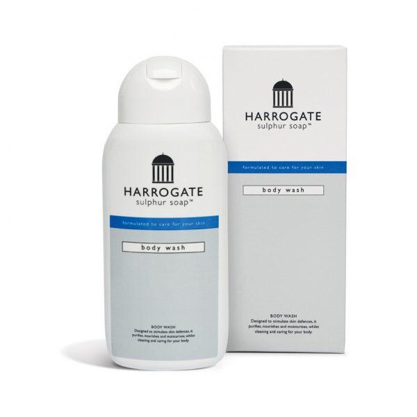 harrogate sulphur soap body wash